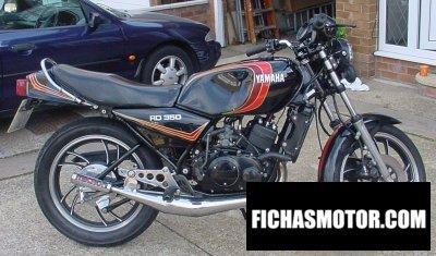 Ficha técnica Yamaha rd 350 lc 1982