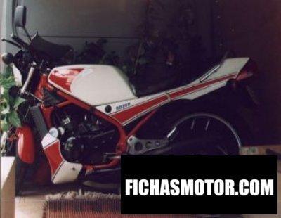 Ficha técnica Yamaha rd 350 lc ypvs 1983