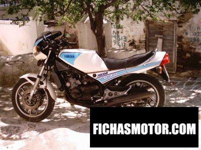 Ficha técnica Yamaha rd 350 lc ypvs 1984