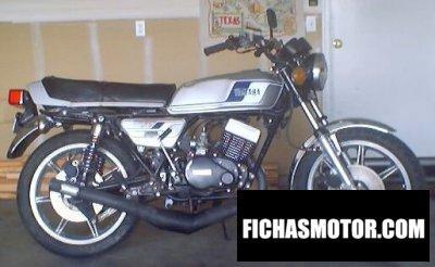 Imagen moto Yamaha rd 400 año 1978
