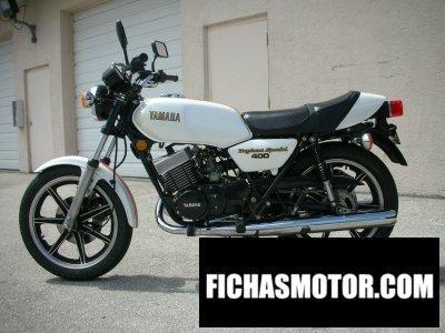 Ficha técnica Yamaha rd 400 1979