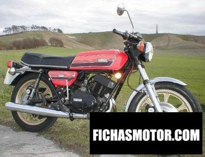 Imagen moto Yamaha rd 400 c año 1976