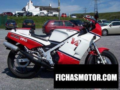 Ficha técnica Yamaha rd 500 lc 1984