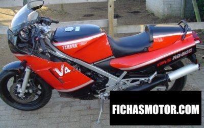 Ficha técnica Yamaha rd 500 lc 1985