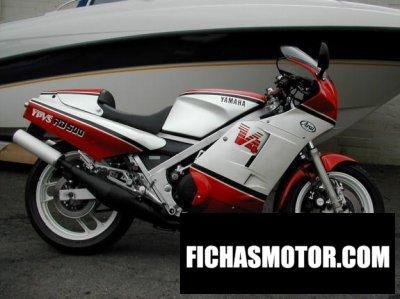 Ficha técnica Yamaha rd 500 lc 1986