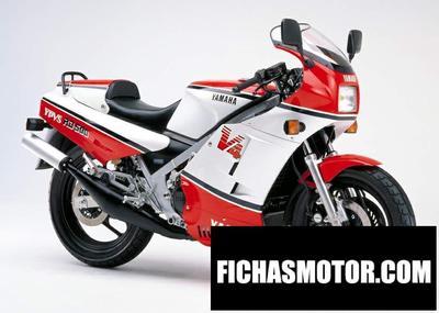 Ficha técnica Yamaha rd 500 lc 1987