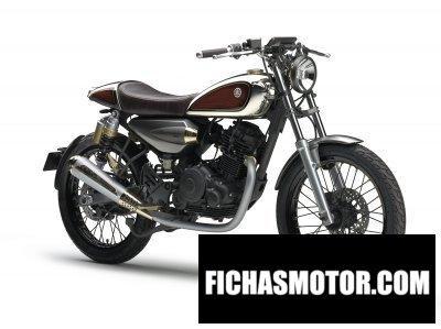 Ficha técnica Yamaha resonator 125 concept 2016