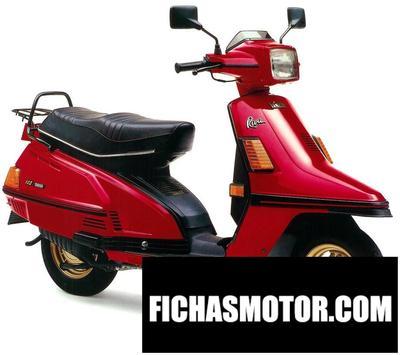 Ficha técnica Yamaha riva 200 1986