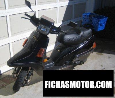 Ficha técnica Yamaha riva 200z 1989