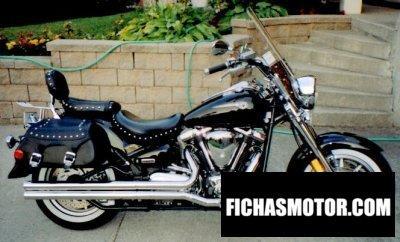 Ficha técnica Yamaha road star midnight silverado 1700 2004