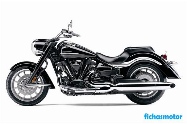 Imagen moto Yamaha roadliner midnight año 2008