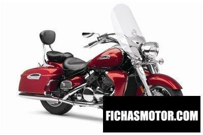 Ficha técnica Yamaha royal star tour deluxe 2011