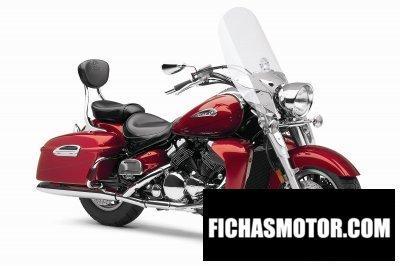 Ficha técnica Yamaha royal star tour deluxe 2013