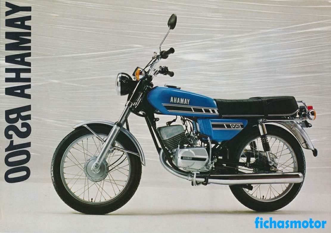 Imagen moto Yamaha rs 100 año 1978