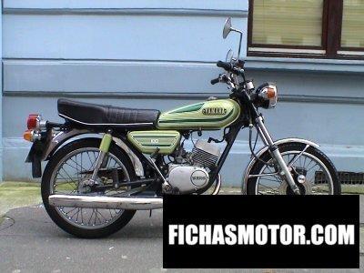 Ficha técnica Yamaha rs 100 dx 1976