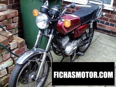 Ficha técnica Yamaha rs 100 dx 1977
