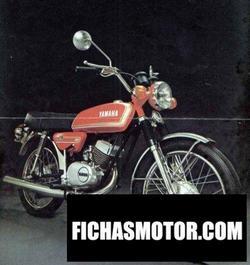 Imagen moto Yamaha rs 125 1976