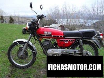 Ficha técnica Yamaha rx 125 1979