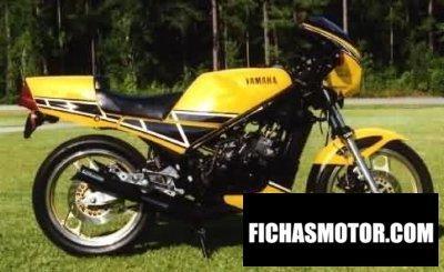 Imagen moto Yamaha rz 350 año 1984