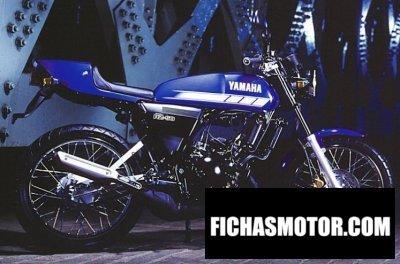Ficha técnica Yamaha rz 50 2002
