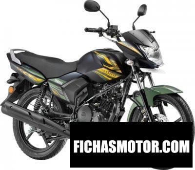 Ficha técnica Yamaha Saluto 125 2020
