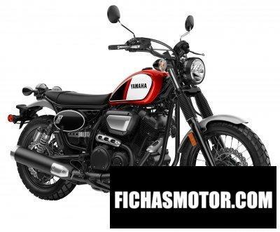 Ficha técnica Yamaha scr 950 2017