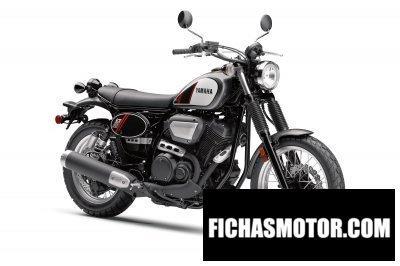 Imagen moto Yamaha scr 950 año 2018