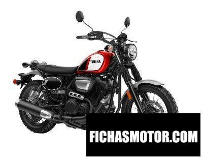 Ficha técnica Yamaha SCR 950 2020