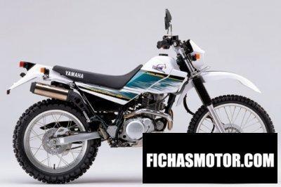 Ficha técnica Yamaha serow 225 we 2002