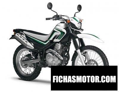 Imagen moto Yamaha serow 250 año 2012