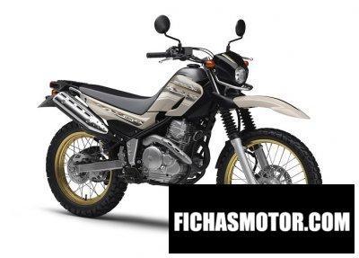 Imagen moto Yamaha serow 250 año 2015