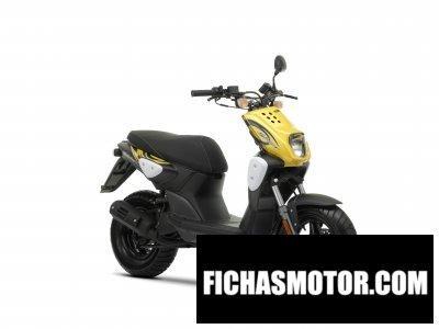 Imagen moto Yamaha slider naked año 2009