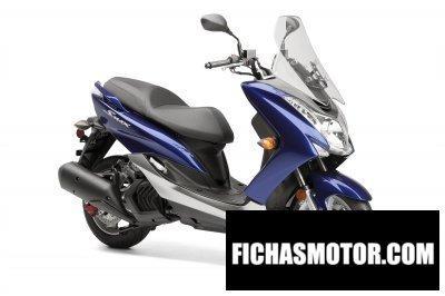 Ficha técnica Yamaha smax 2015