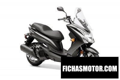 Ficha técnica Yamaha smax 2016
