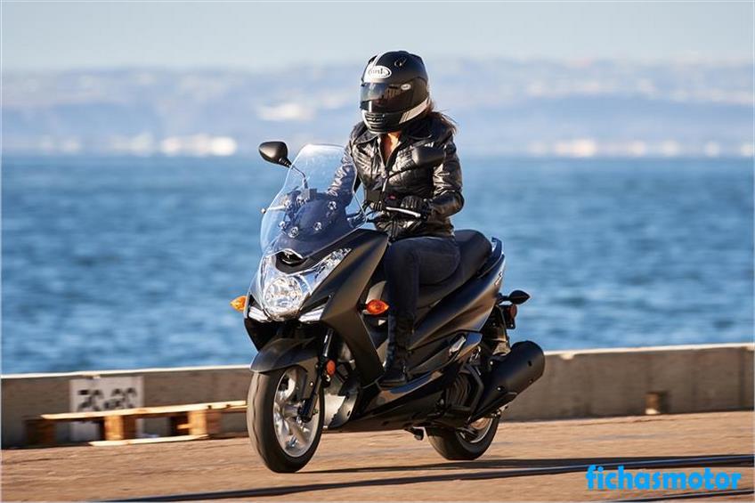 Ficha técnica Yamaha Smax 2019