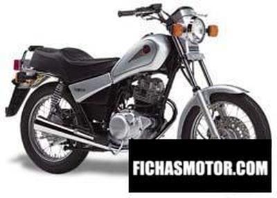 Imagen moto Yamaha sr 125 año 1998