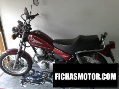 Ficha técnica Yamaha sr 125 2000