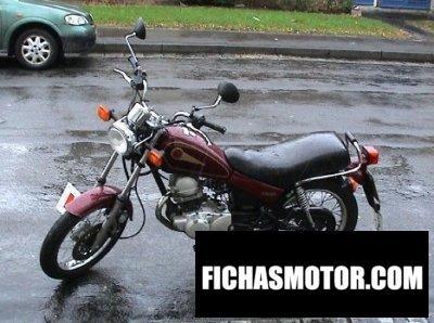 Ficha técnica Yamaha sr 125 2001