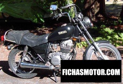 Imagen moto Yamaha sr 250 se año 1982