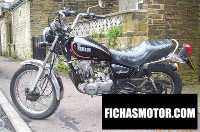 Ficha técnica Yamaha sr 250 special 1981