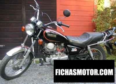 Ficha técnica Yamaha sr 250 us. Custom 1980