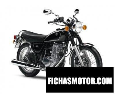 Ficha técnica Yamaha sr 400 2012