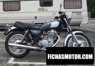 Ficha técnica Yamaha sr 500 1978