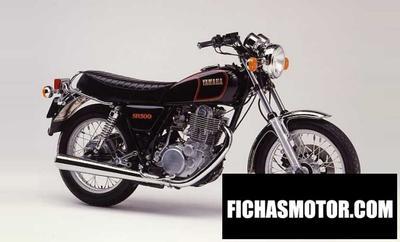 Ficha técnica Yamaha sr 500 1984