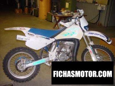 Ficha técnica Yamaha sr 500 1992