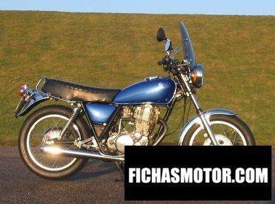 Ficha técnica Yamaha sr 500 1993