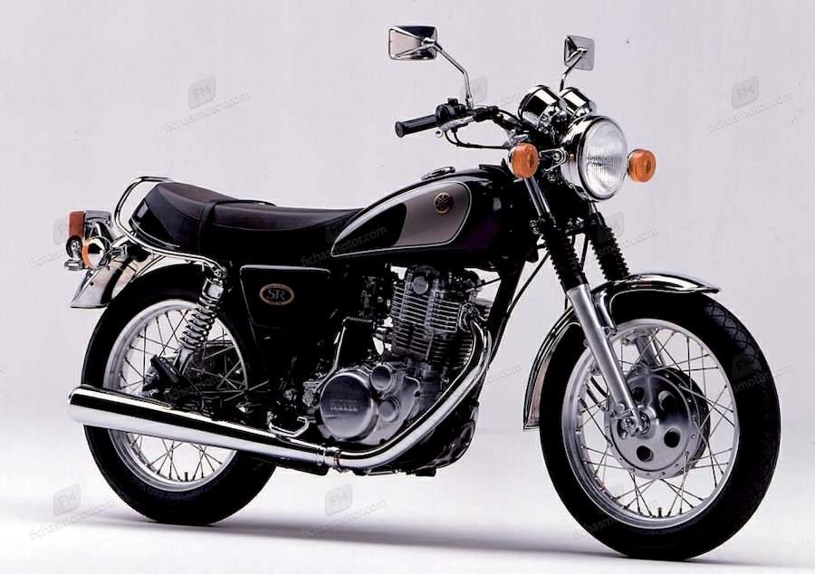Ficha técnica Yamaha sr 500 1999
