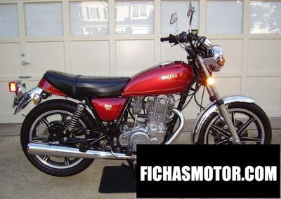 Ficha técnica Yamaha sr 500 g 1982