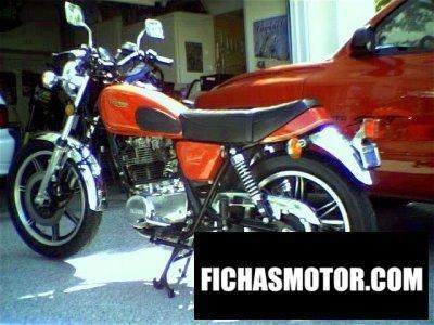 Imagen moto Yamaha sr 500 g (cast wheels) año 1981