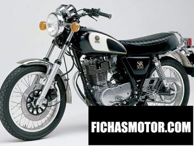Ficha técnica Yamaha sr 500 s 1990